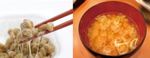 納豆味噌汁でプチ断食