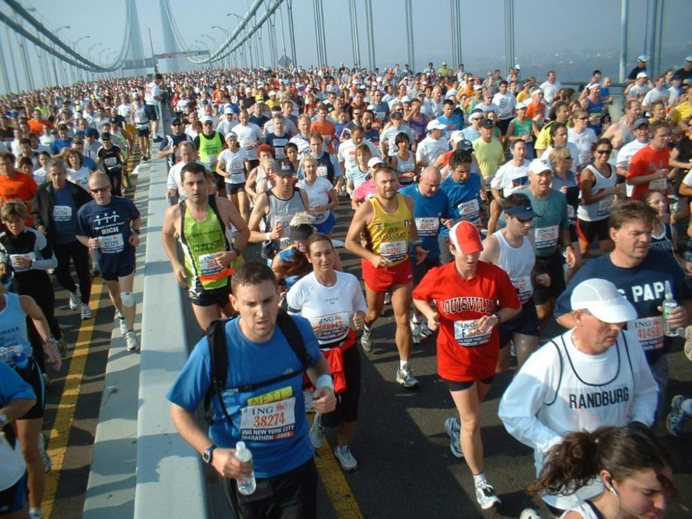 ニューヨークシティーマラソン