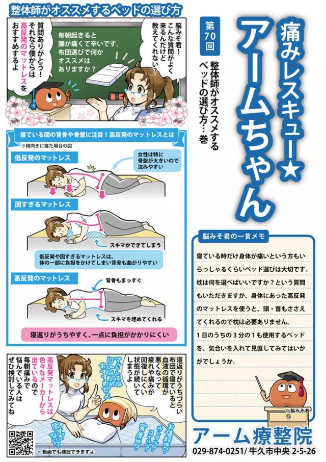 整体師がオススメするベッドの選び方
